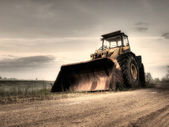 Bulldozer — Stockfoto