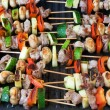 Grill sticks - Foto de Stock  