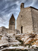 Stone church — Stockfoto