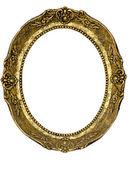 Golden frame — Stock Photo