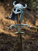 Warrior's grave — Stock Photo