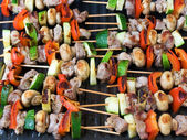 Grill sticks — Stockfoto