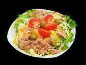 Gemengde tonijnsalade — Stockfoto