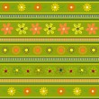 Royalty-Free Stock Vector Image: Green pattern