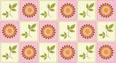 Flower Vector Pattern — Stock Vector