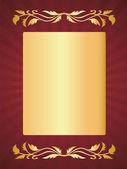 Luxury greeting card — Stock Vector