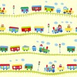 Royalty-Free Stock Vector Image: Train pattern