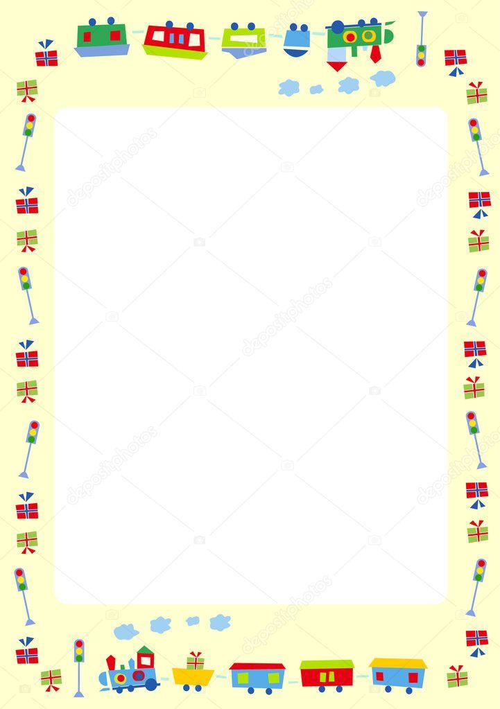 Frame for kids - Stock IllustrationPhoto Frame Design For Kids