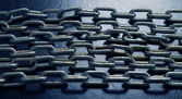 Steel chains — Stock Photo