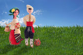 Bulgarian folklore — Stock Photo