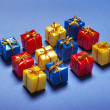 Color gifts — Stock Photo