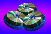 CD and DVD disc — Stock Photo