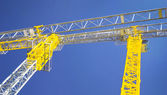 Industrial crane — Stock Photo