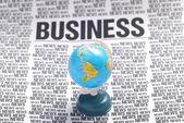 Business news — Stock Photo