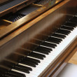 Grand Piano Keys — Foto de stock #2604983