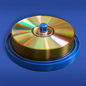 CD and DVD disks — Stock Photo