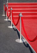 Portable event barrier — Stock Photo