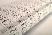 Finansiella — Stockfoto