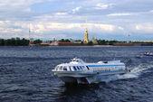 Saint Petersburg Ship — Stock Photo