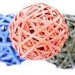 Royalty-Free Stock Photo: Colorful woven balls