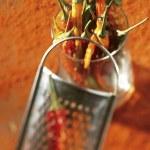 Restaurant menu of dinner — Stock Photo