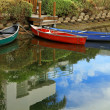 Stock Photo: Venice Canoes