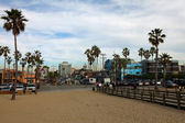 Venice Beach Streets — Stock Photo