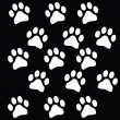 Royalty-Free Stock Vector Image: Paw prints
