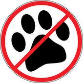 No dogs — Stock Photo