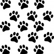 Stock Photo: Paw prints