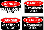 Hazardous area — Stock Photo
