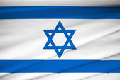 National flag of Israel — Stock Photo