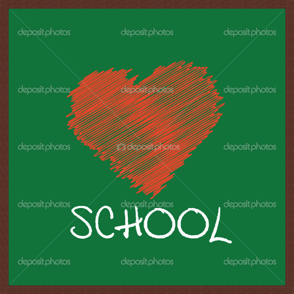 I love school - computer generated illustration — Stock Photo #2035691