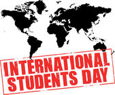International students day — Stock Vector