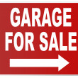 Garage for sale — Stock Photo
