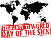 February 11 — Stock Vector