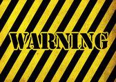 Warning — Stock Photo