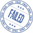 Stock Vector: Failed