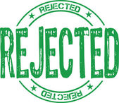 Rejected — Stock Vector