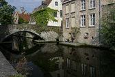 Most w bruegge — Zdjęcie stockowe