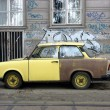 Stock Photo: Trabant in Budapest