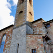 Bell tower in Colle — Stock Photo