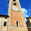Bell tower in Colle val d'Elsa — Stock Photo