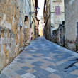 Medieval street in Colle val d'Elsa — Stock Photo