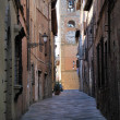Stock Photo: Medieval street in Colle val d'Elsa