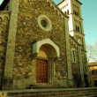 Stock Photo: Church of Castellinin Chianti