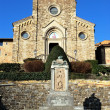 Stock Photo: Church of Barberino Val d'Elsa