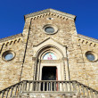 The church of Barberino Val d'Elsa — Stock Photo
