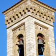 Stock Photo: Bell tower of Barberino Val d'Elsa