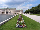 Schloss Belvedere — Stock Photo